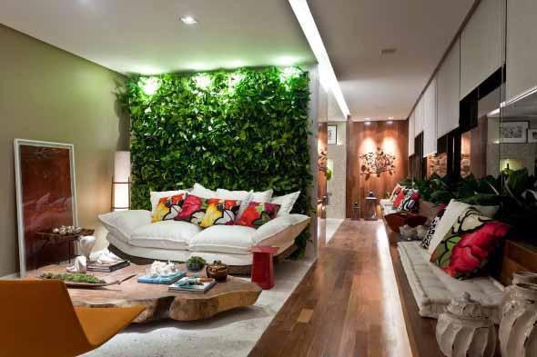 Jardins verticais para decorar casas e apartamentos 001