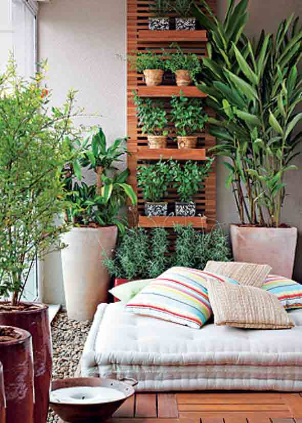 24 dicas de jardins verticais para decorar casas e apartamentos - Decorar la casa barato ...