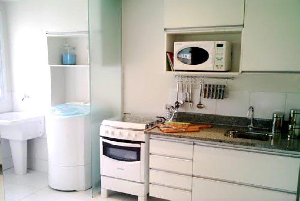 Área de serviço na cozinha 001
