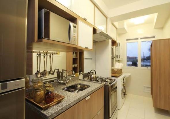 Área de serviço na cozinha 003