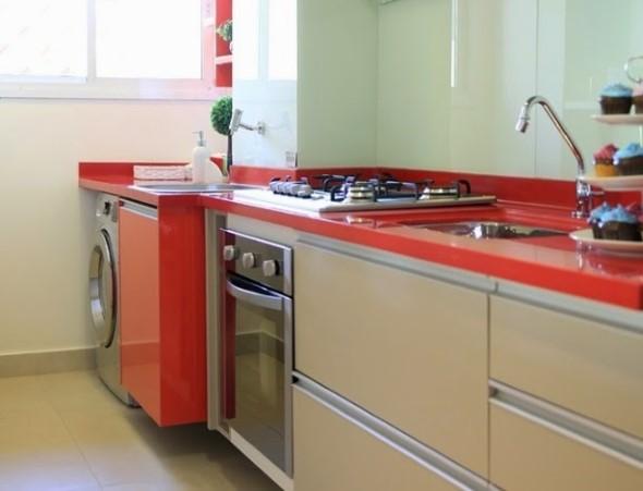 Área de serviço na cozinha 009