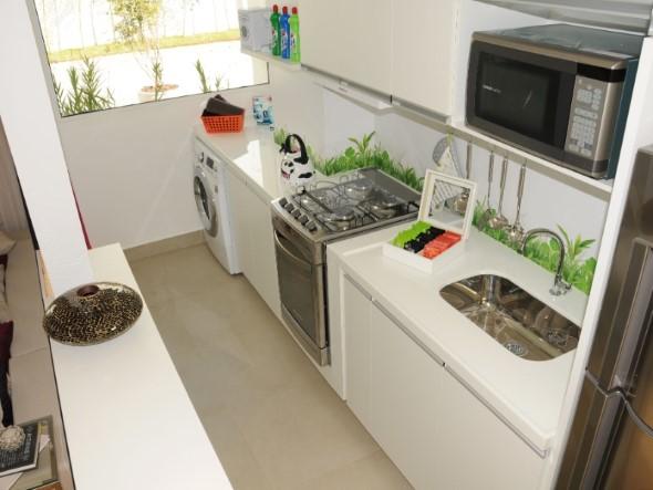 Área de serviço na cozinha 016