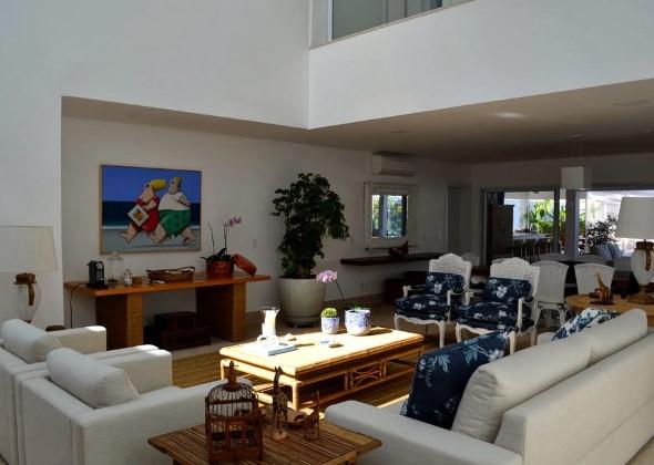 Decorar a sala de estar com quadros 004