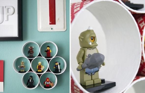 Prateleiras criativas na decoração 008