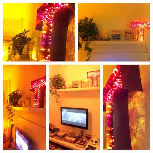 Letreiro luminoso para decoração 008
