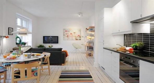 Sala e cozinha conjugadas 010