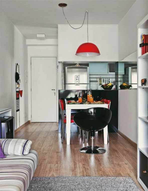 15 ideias de decora o de sala e cozinha conjugadas - Cocinas super pequenas ...