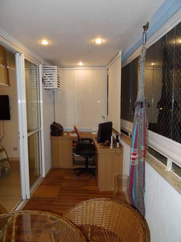 Como transformar a varanda em um escritório 007