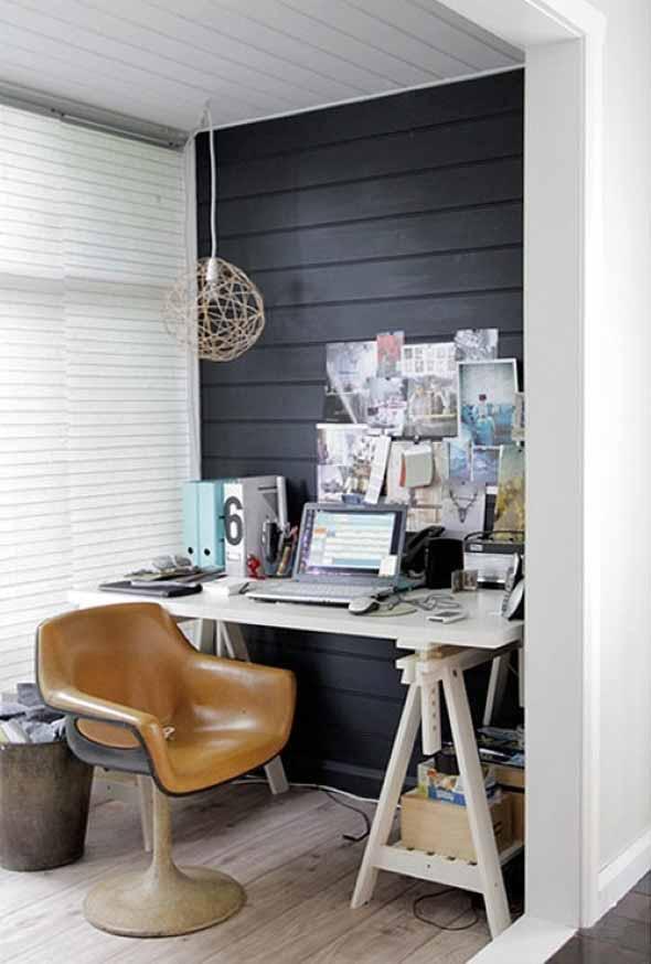 Como transformar a varanda em um escritório 010