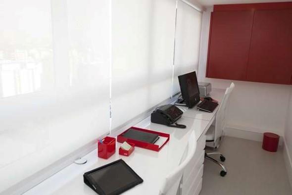 Como transformar a varanda em um escritório 015
