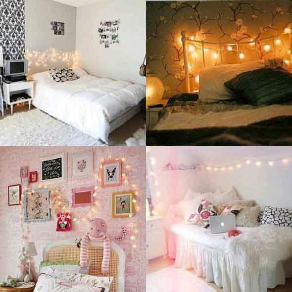 Decorar o quarto com luzes 001