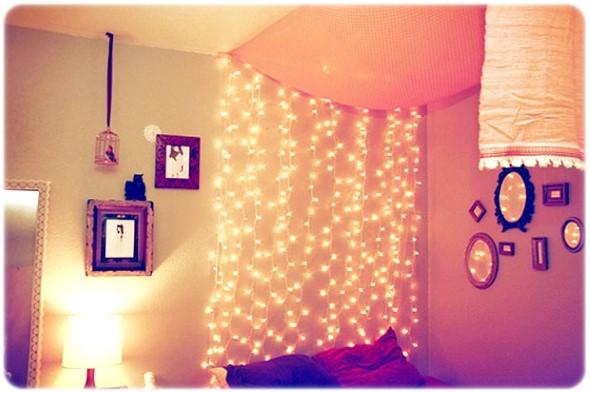 Decorar o quarto com luzes 010