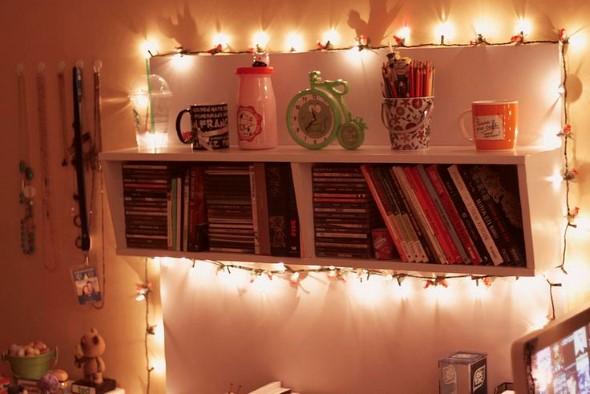Decorar o quarto com luzes 013