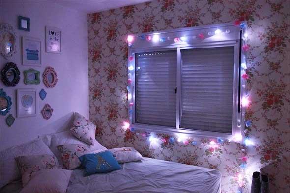 Decorar o quarto com luzes 014