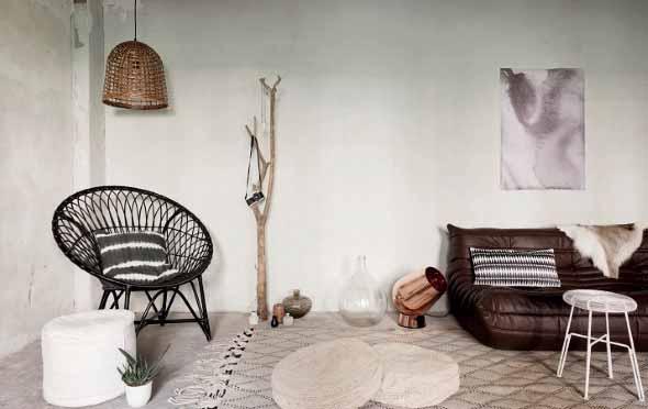 Cadeiras para decorar a sala 001