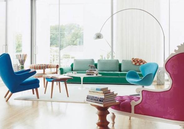 Cadeiras para decorar a sala 002