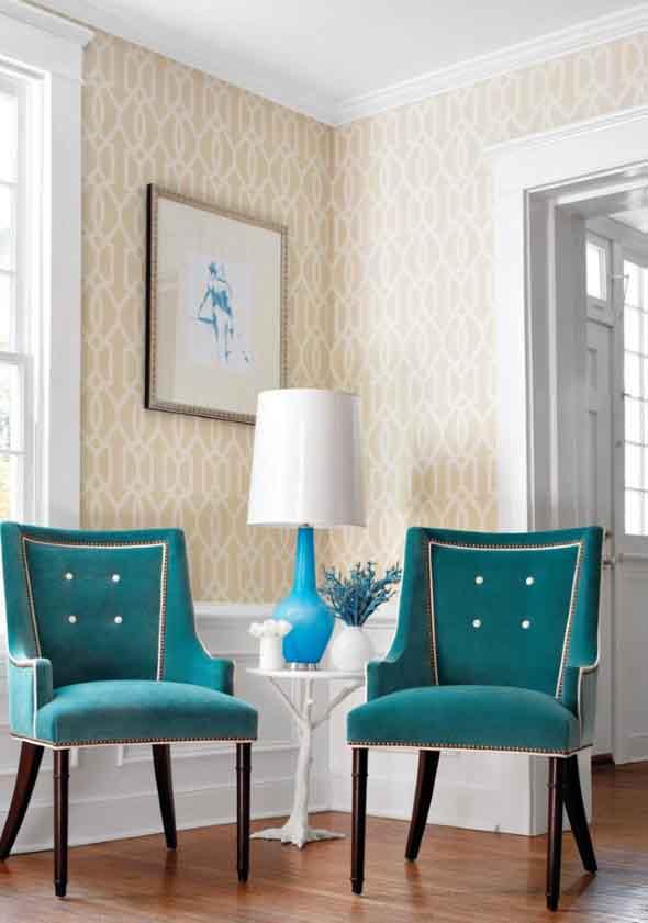 Cadeiras para decorar a sala 003