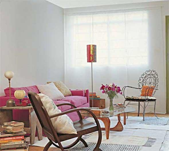 Cadeiras para decorar a sala 006