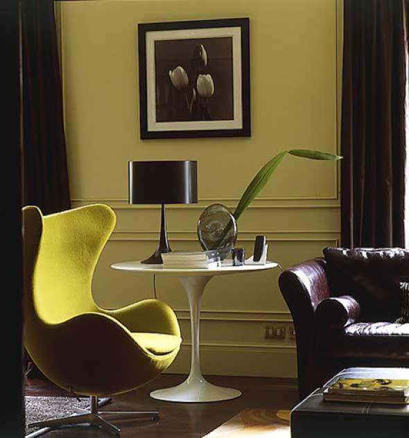 Cadeiras para decorar a sala 007