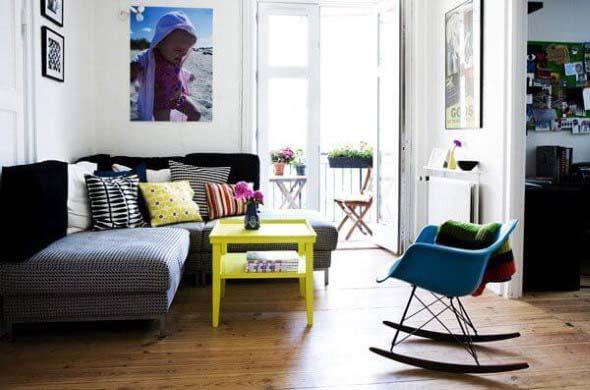 Cadeiras para decorar a sala 008