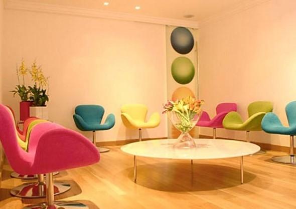 Cadeiras para decorar a sala 010