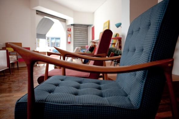 Cadeiras para decorar a sala 011