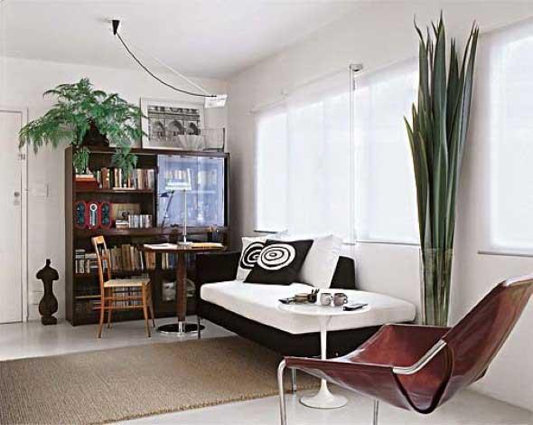 Cadeiras para decorar a sala 013