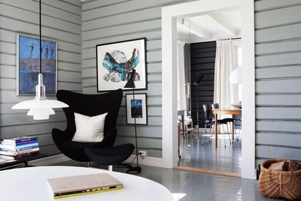 Cadeiras para decorar a sala 015