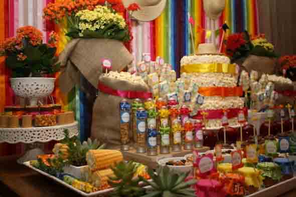 Decoração para festa junina no sítio 004