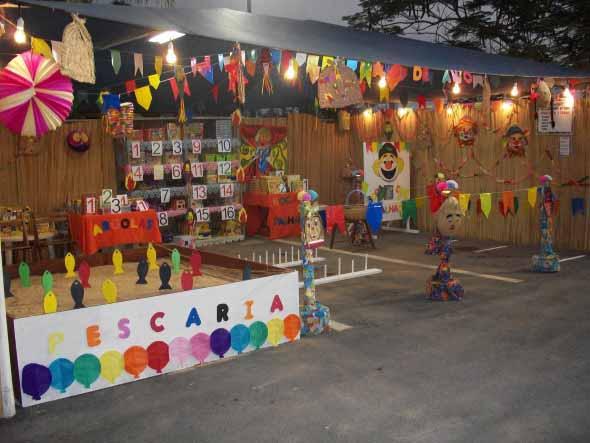 Decoração para festa junina no sítio 006