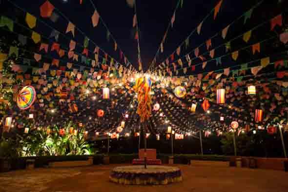 Decoração para festa junina no sítio 010