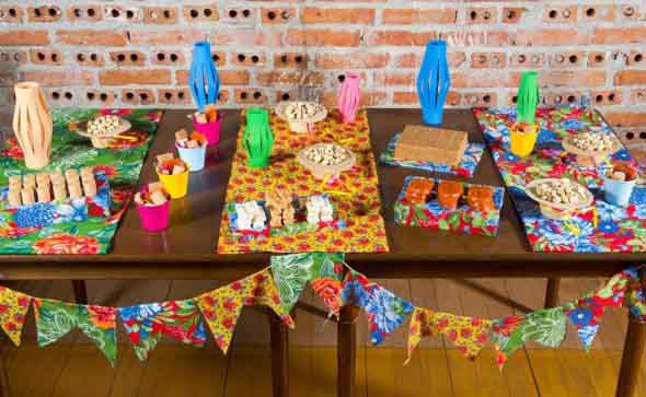 Decoração para festa junina no sítio 012