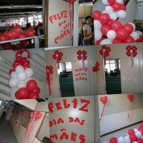 Decoração para o Dia das Mães em escola 003