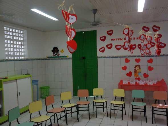 Decoração para o Dia das Mães em escola 005