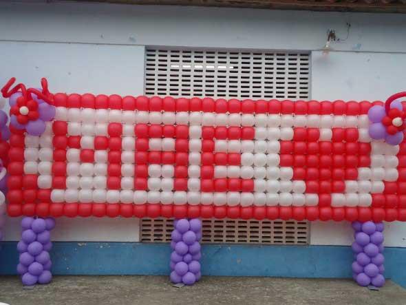 Decoração para o Dia das Mães em escola 014