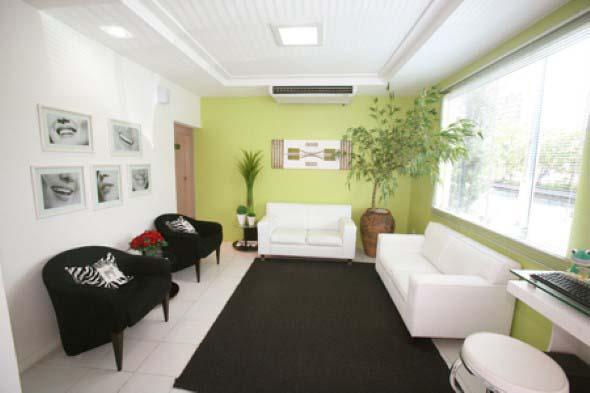 Decoração para sala de espera de clínica odontológica 006