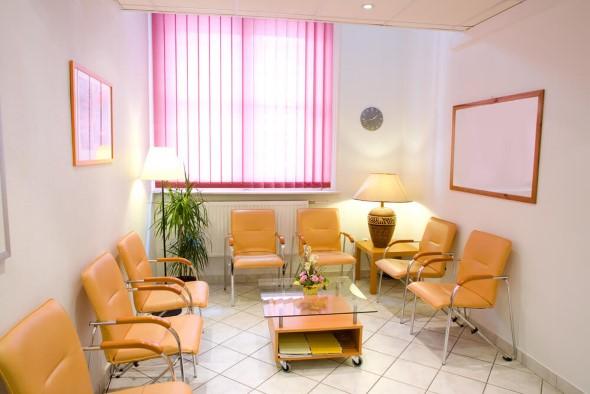 Decoração para sala de espera de clínica odontológica 007