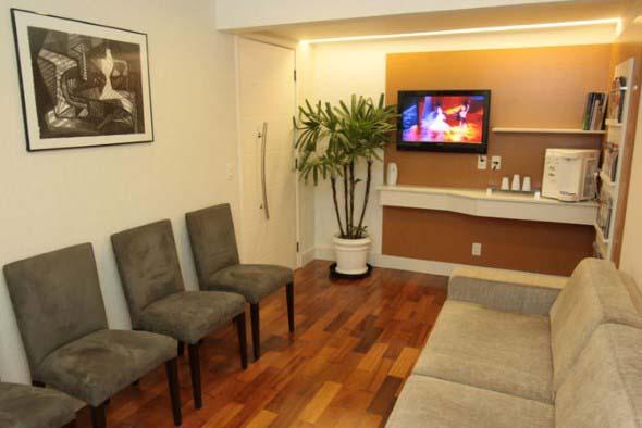 Decoração para sala de espera de clínica odontológica 008