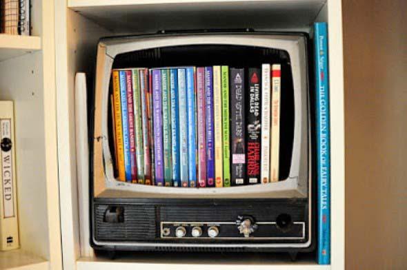 O que fazer com a televisão velha 001