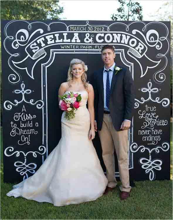 Painéis que podem ser feitos no casamento 005