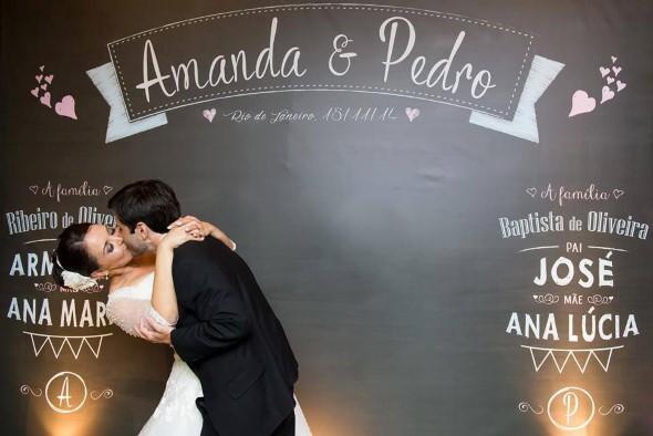 Painéis que podem ser feitos no casamento 007