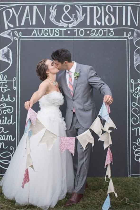 Painéis que podem ser feitos no casamento 012