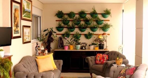 Como ter um jardim na sala de estar 012