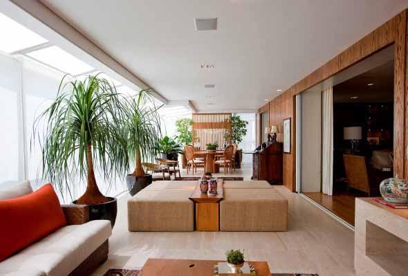 Como ter um jardim na sala de estar 017