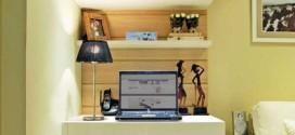 Montar escritório pessoal na sala de estar