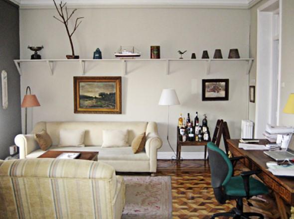 Escritório pessoal na sala de estar 010