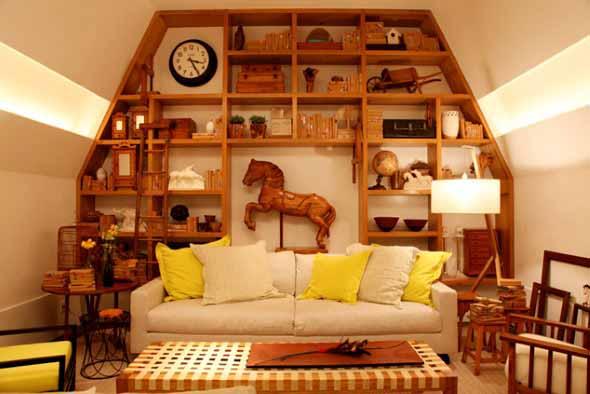 Ideias e dicas de decoração para o sótão 010
