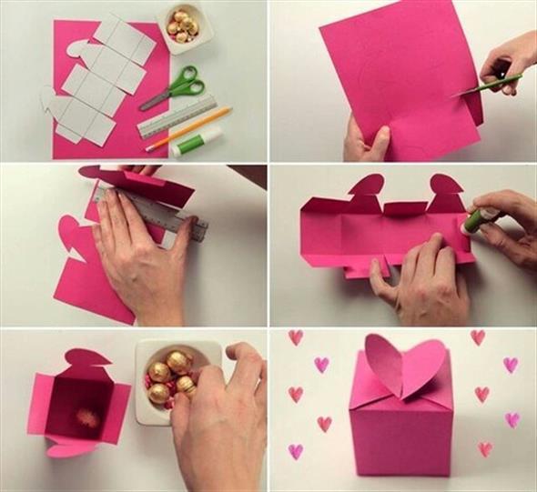 Caixinha surpresa decorada para o Dia dos Namorados 005