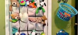 16 ideias de como organizar os brinquedos das crianças