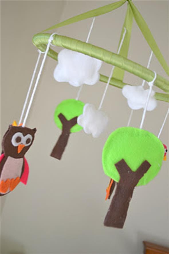 Faça o seu móbile decorativo para o quarto do bebê 007